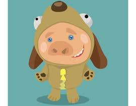 #14 for pig in dog costume by ToaMota