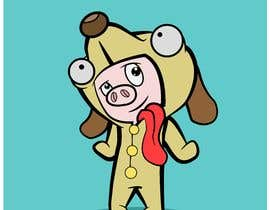 #22 for pig in dog costume by ToaMota
