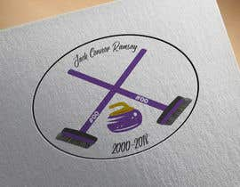 #13 for Create a curling memorial logo by harshit1chauhan