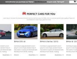 nº 21 pour Classic Car Classified Ad Site par jahangir505