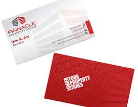#66 for Business Card Design for Pinnacle Property Group - POTENTIAL LONG-TERM EMPLOYER by creationz2011