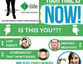 #79 cho Flyer for Personal Trainer bởi TUKU22