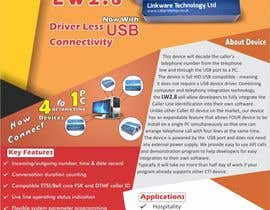 #26 untuk Design a Flyer for a Telephony Product oleh AGPrinters