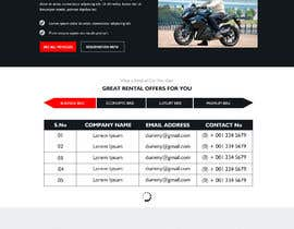 #4 for Create a design for a bike renting listing website by sherazi2592