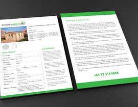 #18 for Brochure design double page af raciumihaela