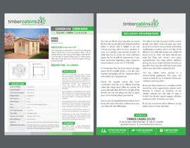#29 for Brochure design double page af chowagraphics