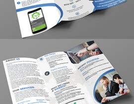 #22 Trifold Brochure for SEO Company részére mnagm001 által