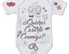 #54 untuk Diseño para un body de bebé oleh wilsonomarochoa