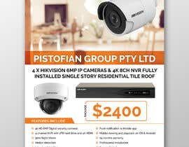 #85 for Create a Flyer for CCTV installations by dnamalraj