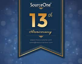 nº 13 pour Design a Banner for SourceOne's 13th Anniversary par ayan1986