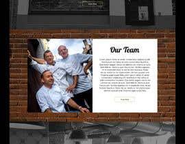 nº 57 pour Home page mockup par winniefernandez