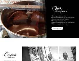 nº 46 pour Home page mockup par blackeye77