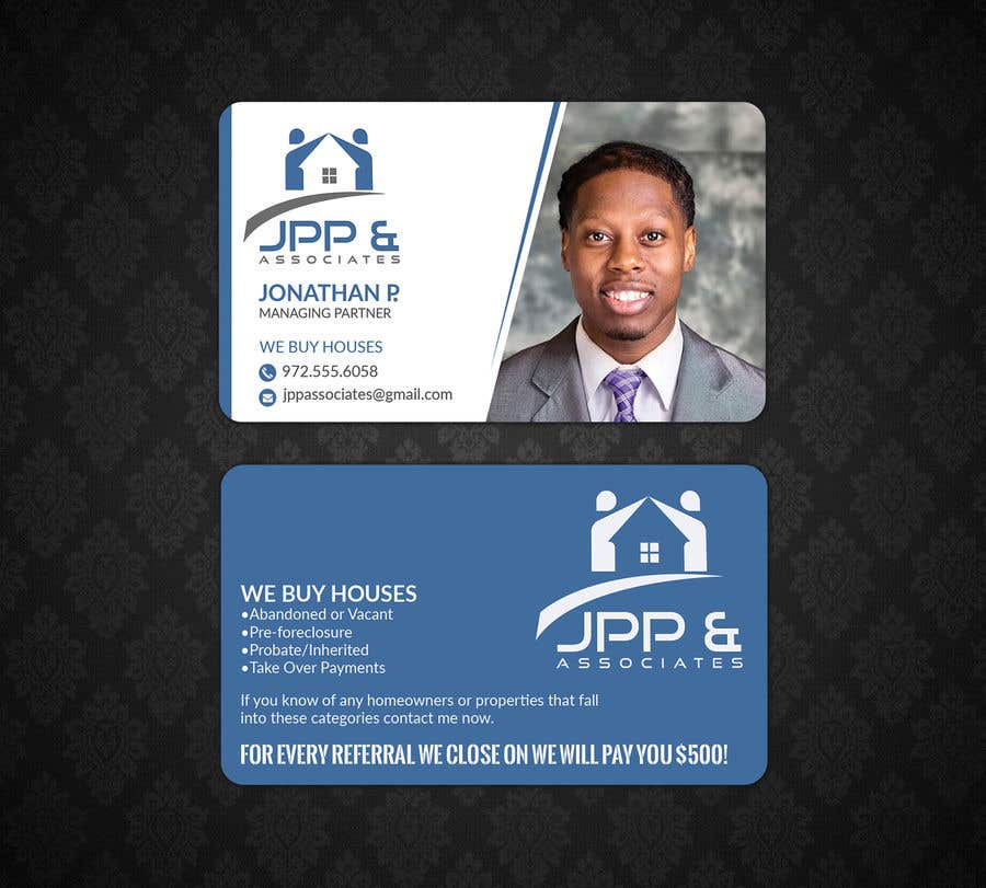 Entry 31 by lipiakter7896 for design real estate investor business contest entry 31 for design real estate investor business cards reheart Image collections