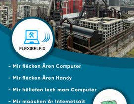 #3 for EASY AND SIMPLE MONEY: Make an A6 flyer for Flexibelfix by garik09kots