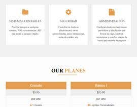 chamelikhatun544 tarafından Creation of 4 Landing page based on template AmpleAdmin için no 10