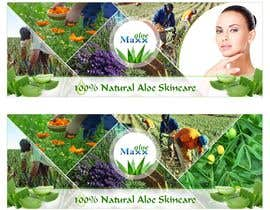 #31 for Designning of a FB page banner and image pic for a skincare brand by Benozirr