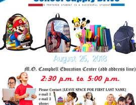 #23 for School Supply Drive Flyer Design for Teachers/Students af mustufazaman05