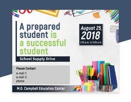 #18 for School Supply Drive Flyer Design for Teachers/Students af Hasan628