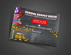 #21 for School Supply Drive Flyer Design for Teachers/Students af graphicshero
