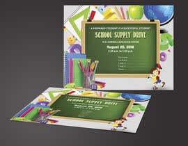 #16 for School Supply Drive Flyer Design for Teachers/Students af saifulisaif22
