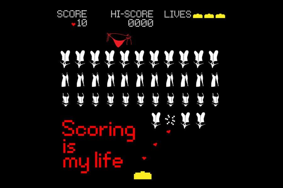 Inscrição nº 84 do Concurso para Gaming and scoring theme t-shirt design wanted