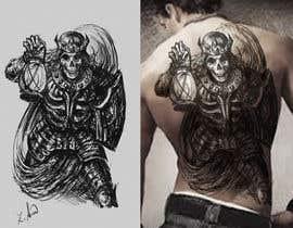 #53 für Design my back tattoo von svanka64
