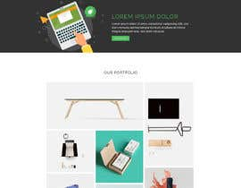 #17 for Website Mockup design a specific page by blackeye77