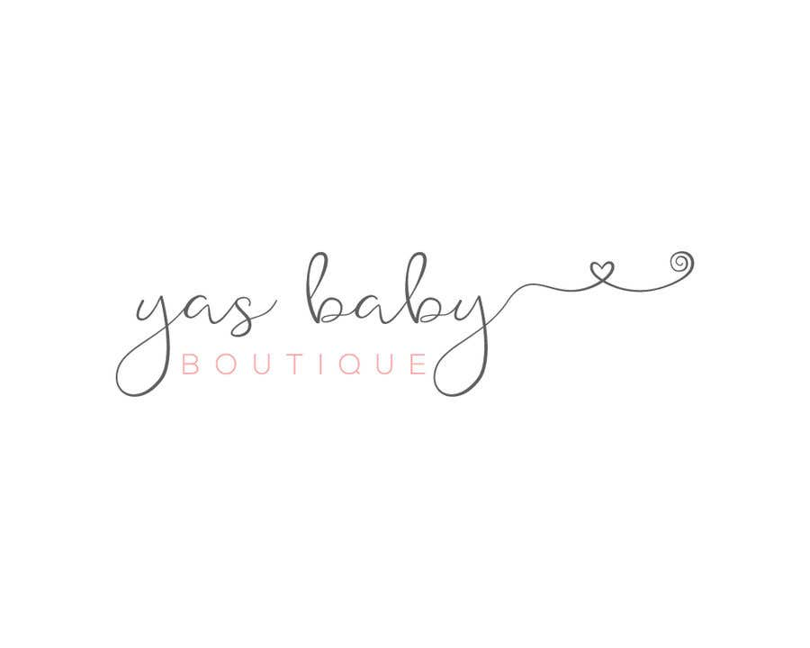 Contest Entry #88 for Build me a logo for my online baby boutique