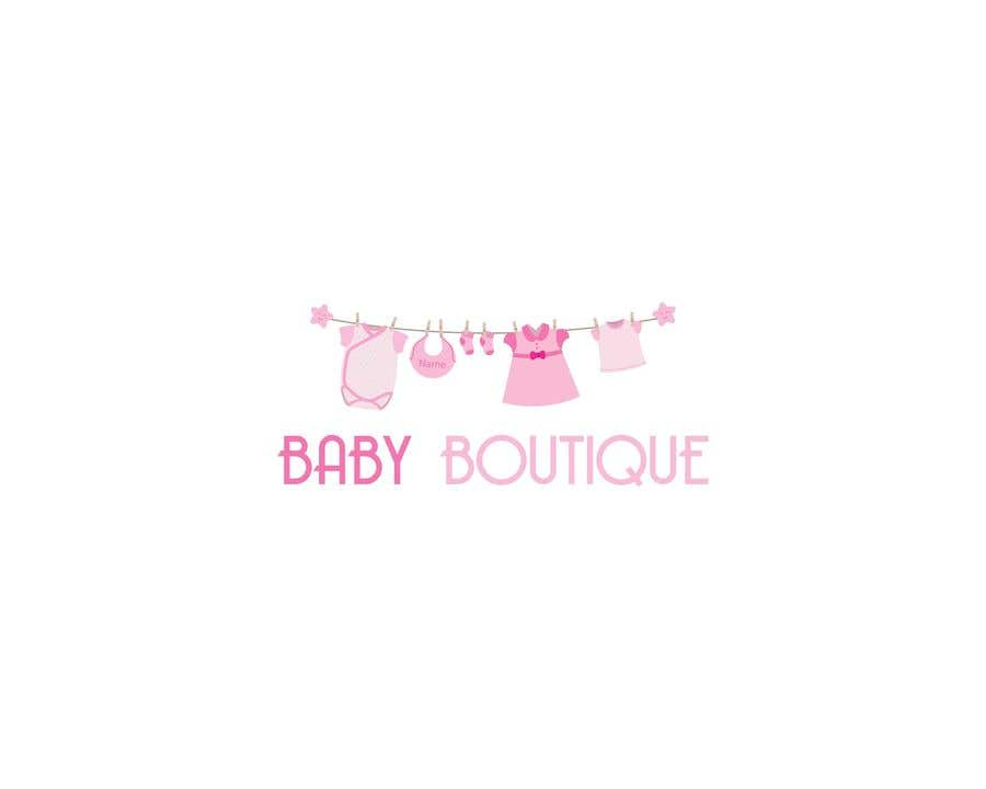 Contest Entry #70 for Build me a logo for my online baby boutique