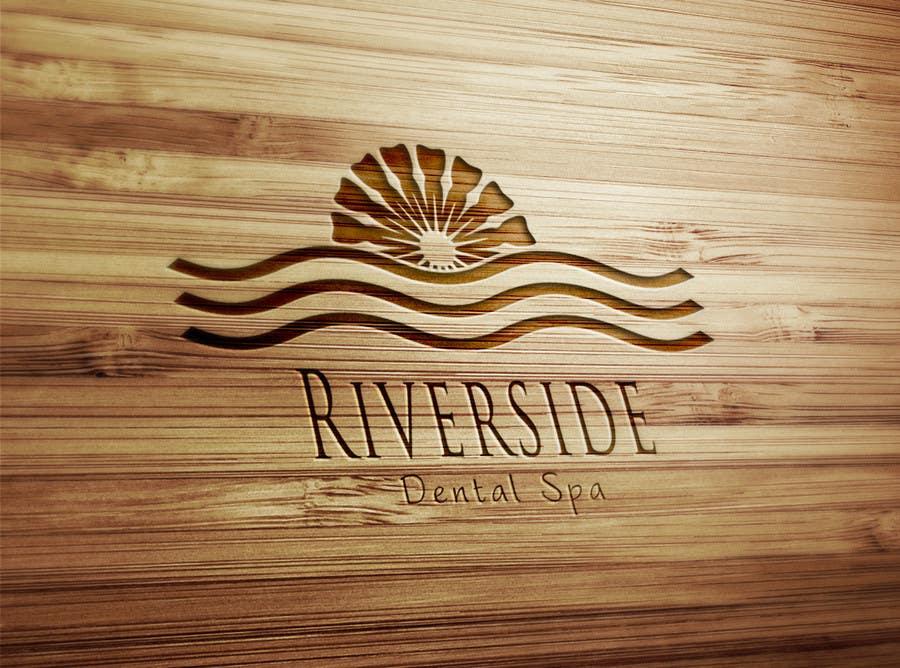 Penyertaan Peraduan #                                        85                                      untuk                                         Logo Design for Riverside Dental Spa