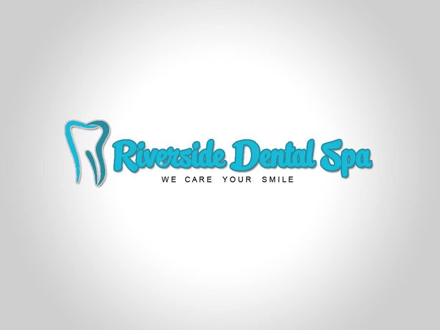 Penyertaan Peraduan #106 untuk Logo Design for Riverside Dental Spa