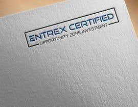 """#11 for Logo for:  """"Entrex Certified* Opportunity Zone Investment"""" by Mojahid2"""