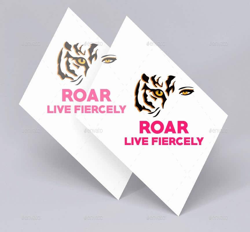 Inscrição nº 172 do Concurso para ROAR - Girl power logo!