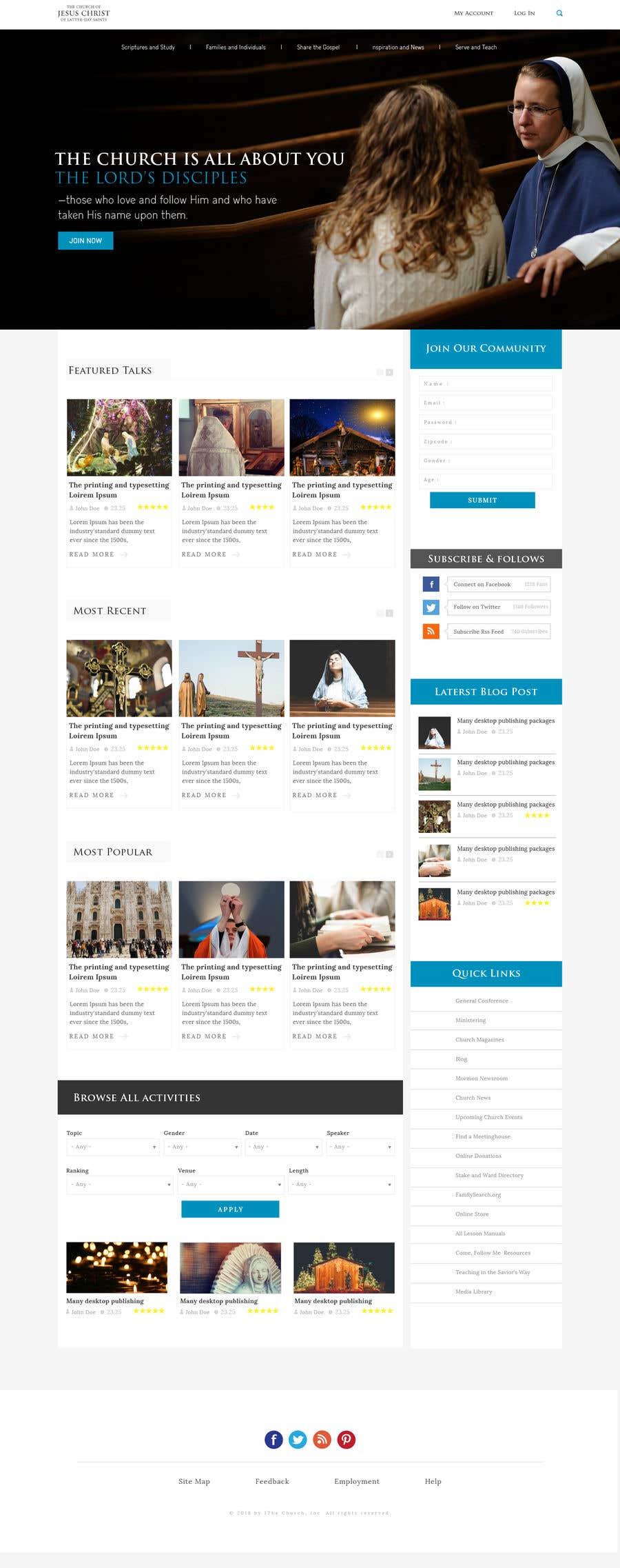 Entry #11 by saidesigner87 for Best LDS Talks | Freelancer