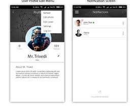 #102 untuk Android graphic logo and User interface design work oleh shubhamtrivedi09