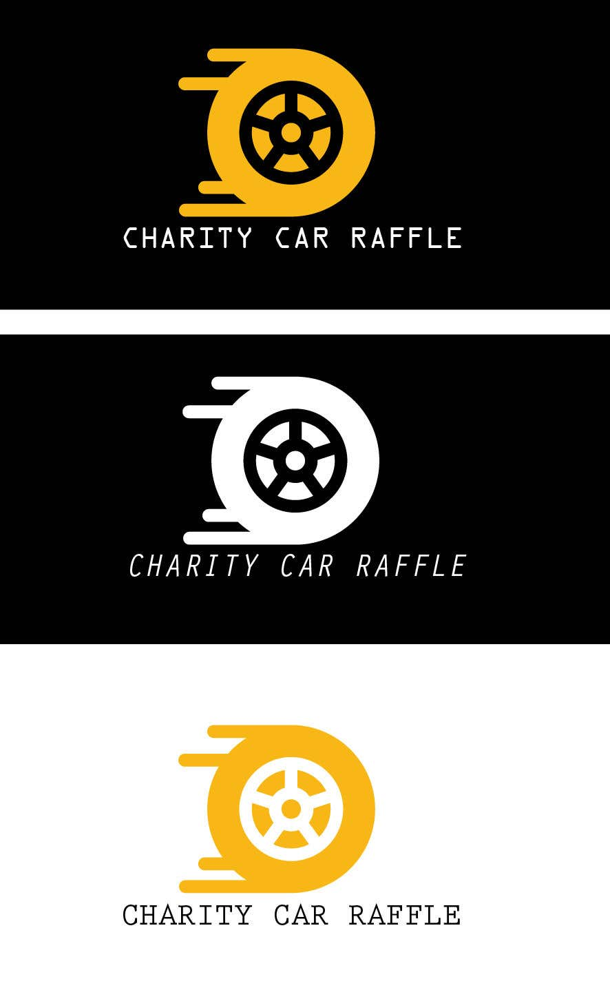 Proposition n°2 du concours Logo designed for car raffle website