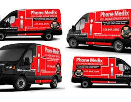 #28 для Graphic Design for Commercial Vehicle wrap от TheFaisal