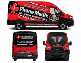 #29 для Graphic Design for Commercial Vehicle wrap от TheFaisal