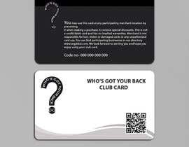 #150 for Design a Membership Card (close to business card size) by yes321456