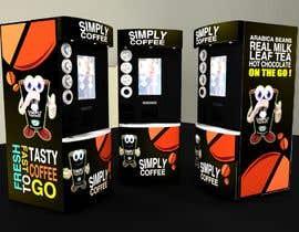 #180 for COFFEE MACHINE ARTWORK MODERN af zdravcovladimir