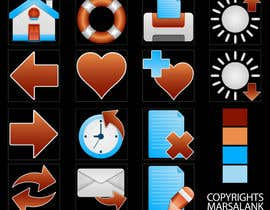 #16 for Icon or Button Design for I4 Web Browser Icons af marsalank