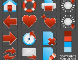 #13 for Icon or Button Design for I4 Web Browser Icons af marsalank