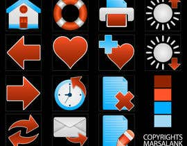 #15 for Icon or Button Design for I4 Web Browser Icons af marsalank
