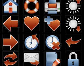 #32 for Icon or Button Design for I4 Web Browser Icons af marsalank
