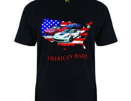 #7 for American Made Muscle Cars Tee Shirts by akmalhossen