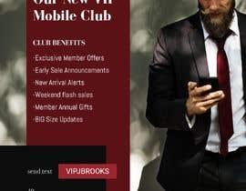 """#5 , Website VIP """"text club"""" banner design 来自 fauzifau"""