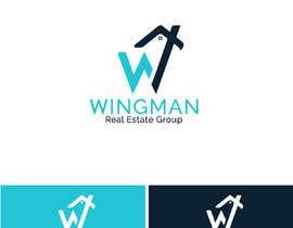"""#355 pentru Logo Design for """"Real Estate Wingman"""" de către RupokMajumder"""