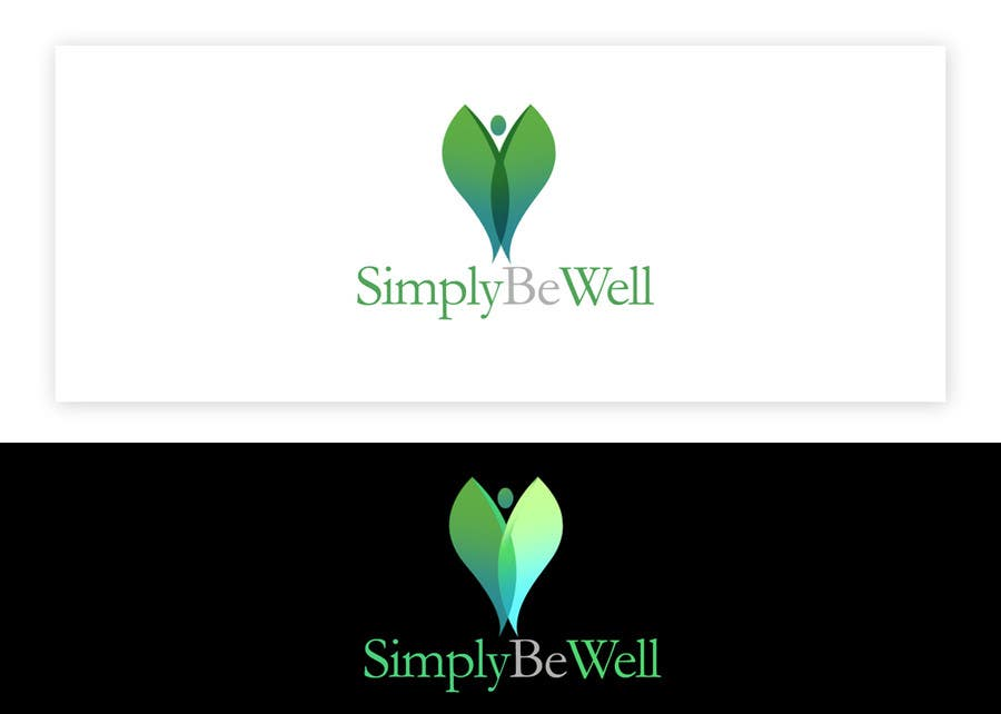 "Penyertaan Peraduan #56 untuk Logo Design for Corporate Wellness Business called ""Simply Be Well"""