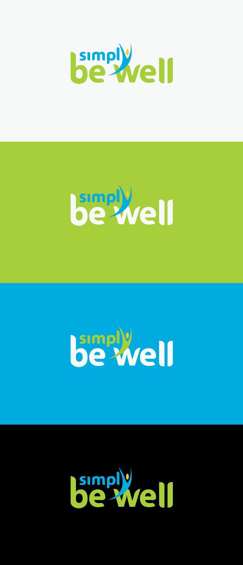 """Penyertaan Peraduan #51 untuk Logo Design for Corporate Wellness Business called """"Simply Be Well"""""""