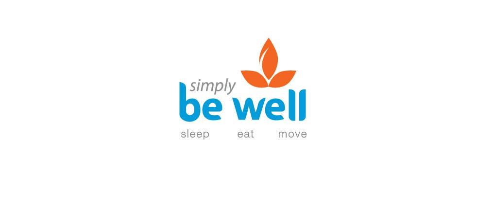 """Penyertaan Peraduan #65 untuk Logo Design for Corporate Wellness Business called """"Simply Be Well"""""""